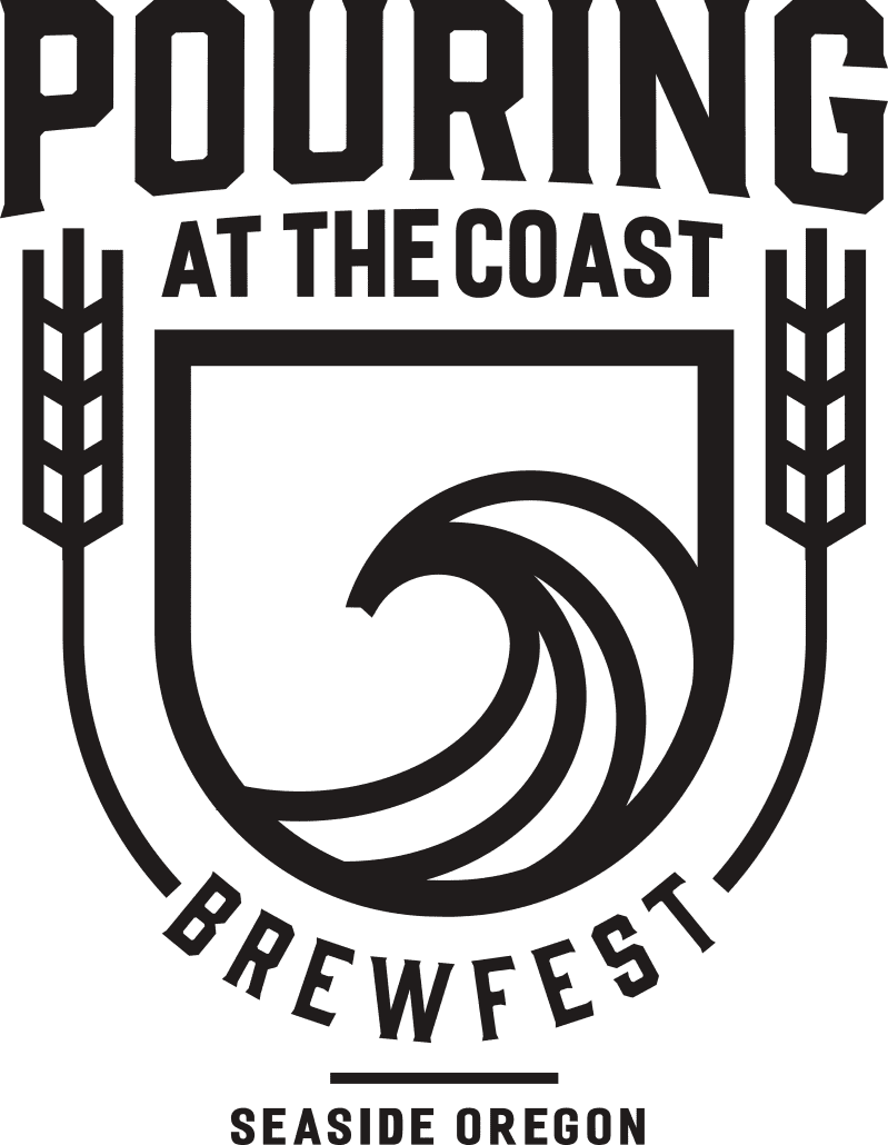 Pouring at the Coast Brewfest